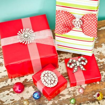 Gift Wrap Bling