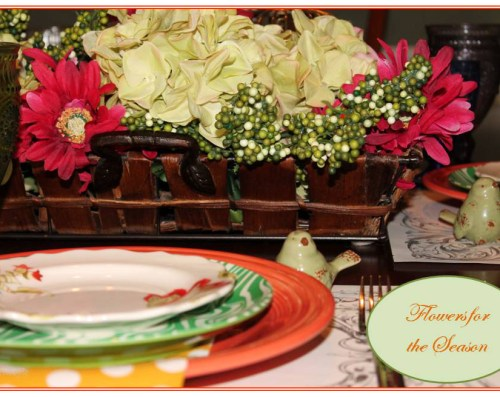 Spring Table Setting by ConfettiStyle2