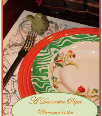 Spring Time Table Setting by ConfettiStyle