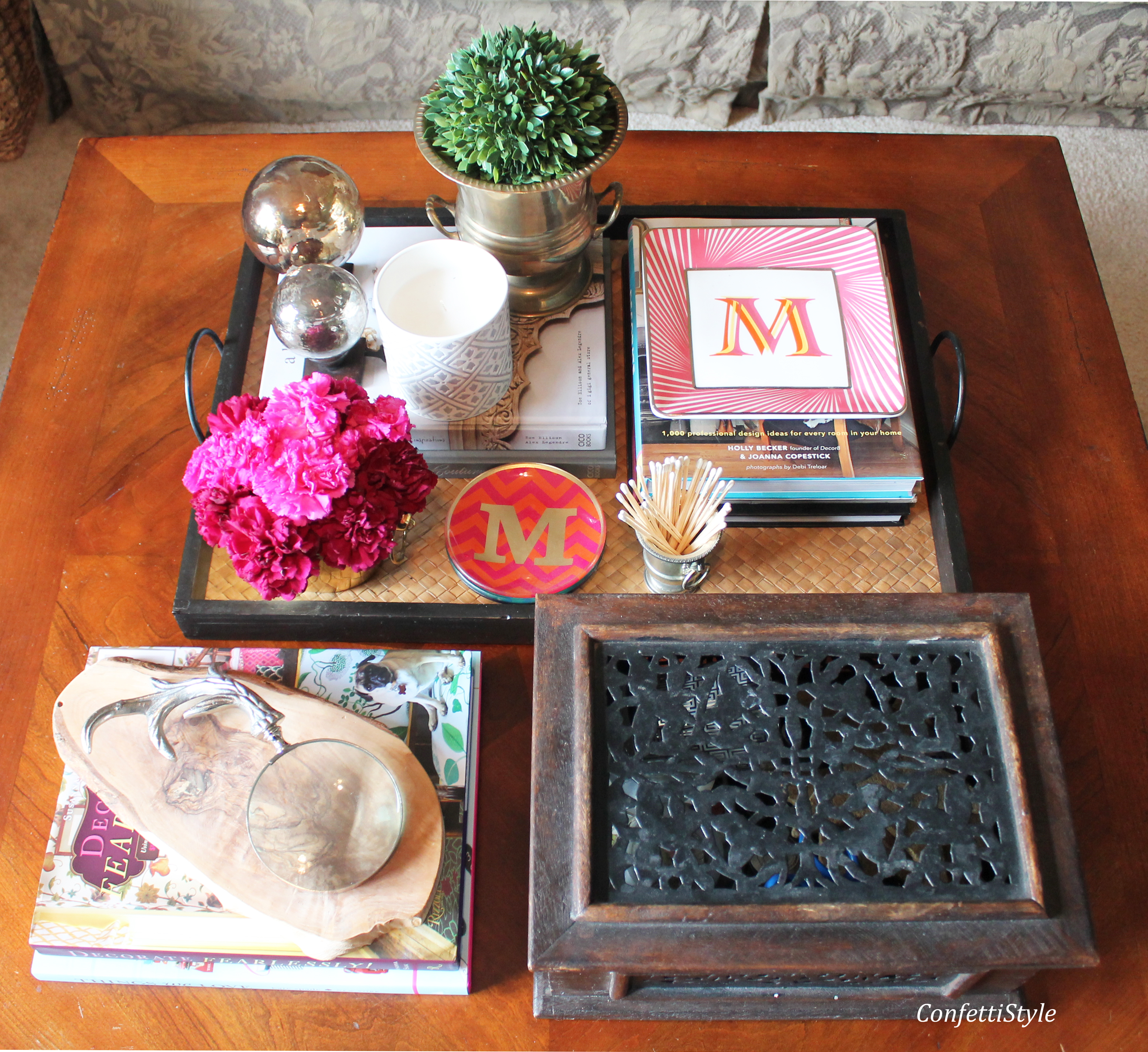 The Anatomy Styling A Coffee Table Tray