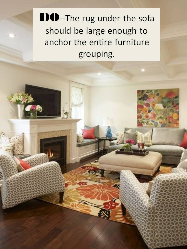 console table behind sofa decor ideas waterproof cover for leather design guide: how to style a sectional | confettistyle