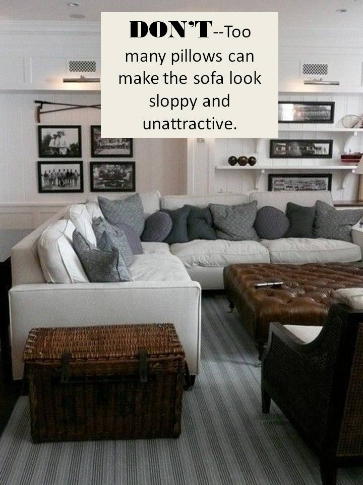 sofa rug arrangement plush covers design guide: how to style a sectional | confettistyle