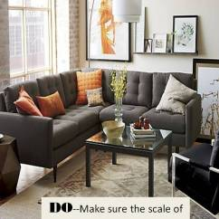 Coffee Table Size For Sectional Sofa Pillow Inserts Design Guide: How To Style A | Confettistyle