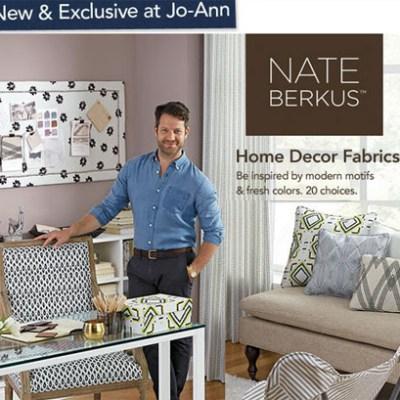 Nate Berkus Fabrics at JoAnn