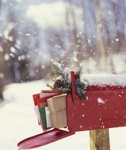 Christmas Card Envelopes
