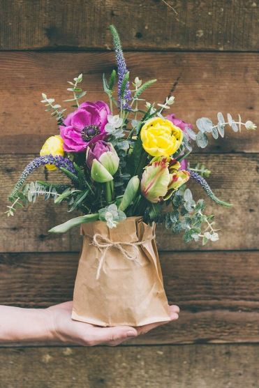 Garden Party Flower Arrangements