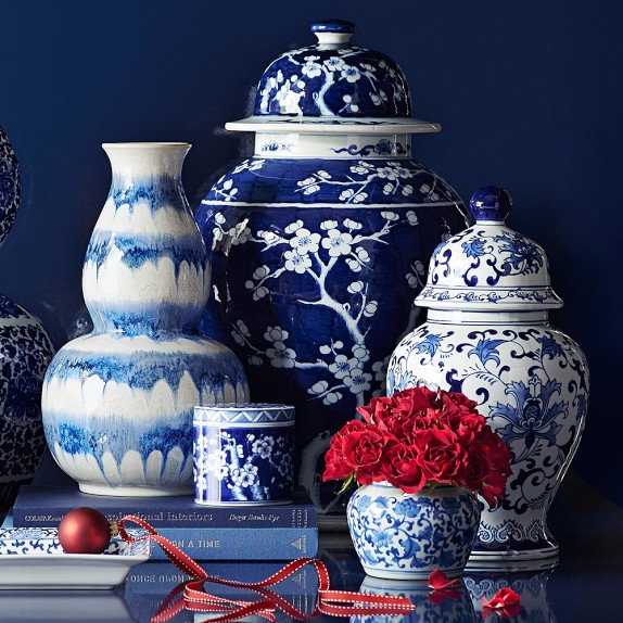 Product Inspiration Blue And White Ginger Jars