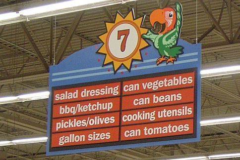 fruit kitchen curtains builders surplus & bath cabinets 5 grocery store items to decorate your home with ...
