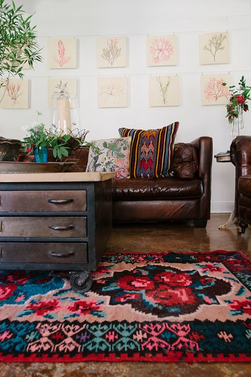 Design Trend Floral Rugs Confettistyle