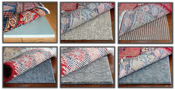 Taking the kink out of the rug with Rug Pad USA! | ConfettiStyle