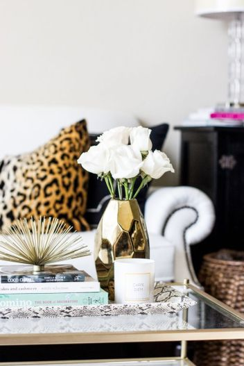 Coffee Table Decor via Theteacherdiva