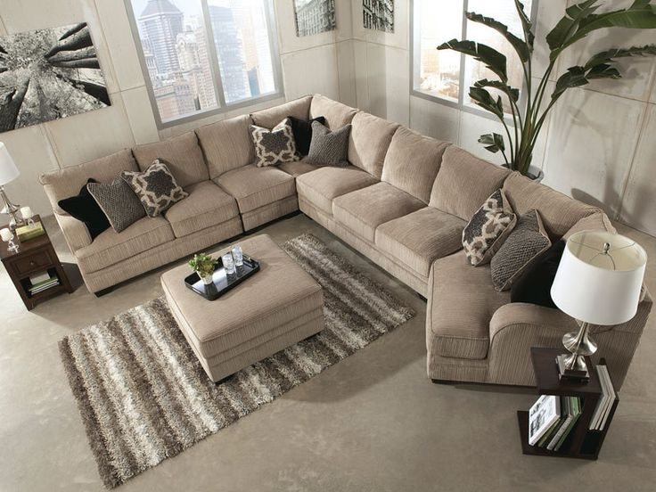 Design Chat: Styling Super Sized Sectional Sofas ...