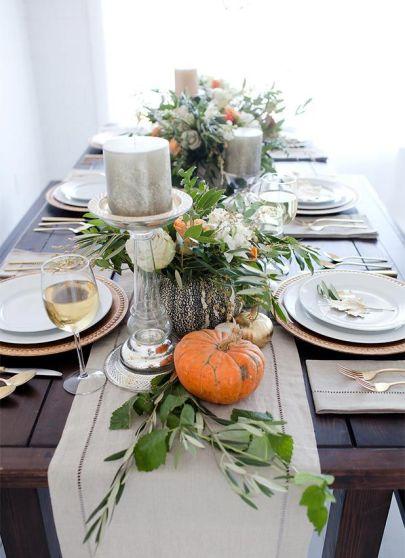 Thanksgiving Table via PotteryBarn Kids