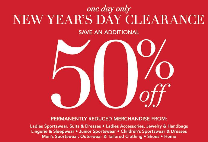 Years Day Sale