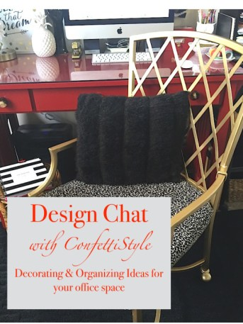 Design Chat: Office Decor and Organization.001