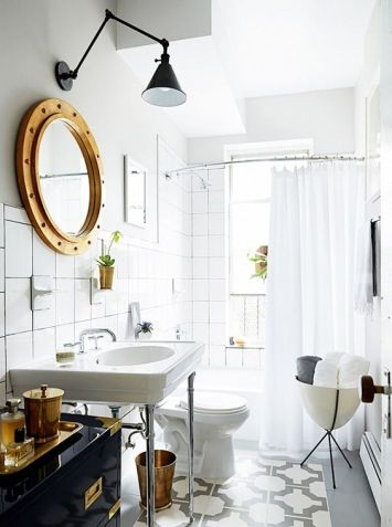 design inspiration: small bathrooms with major impact