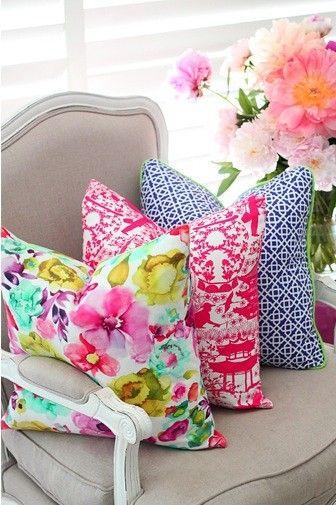 Spring Pillows