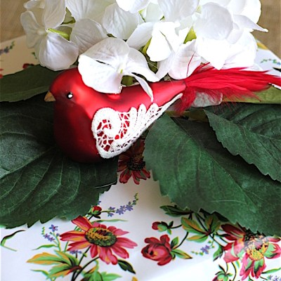 Gift Wrap Inspiration:  Flowers & Birds