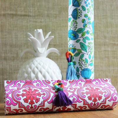 Gift Wrap Inspiration:  Coloring Book Pages