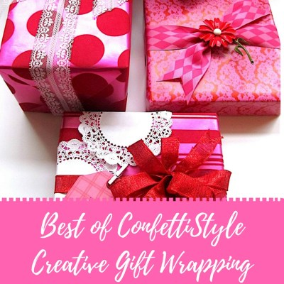 Best of ConfettiStyle–Creative Gift Wrap Ideas