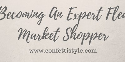 Becoming An Expert Flea Market Shopper (5 books to own)