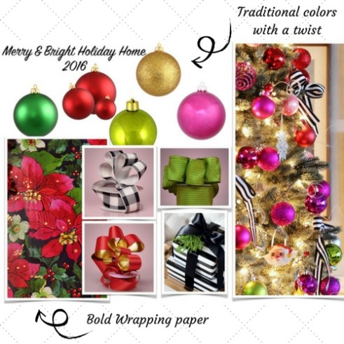 2016 ConfettiStyle Christmas Decor Theme