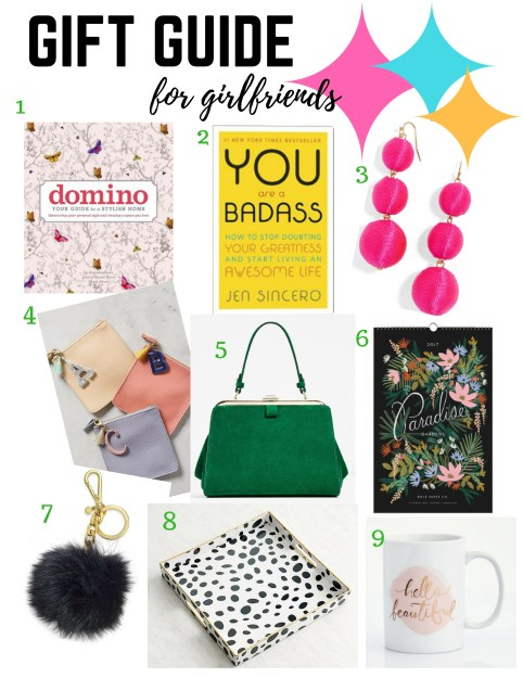 2016 Holiday Gift Guide for Girlfriends