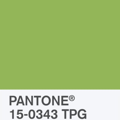 2017 Color Of The Year: Greenery (a classic Christmas Color)