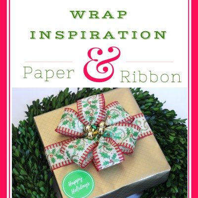 My Christmas Gift Wrap–It's All In The Details
