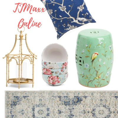 Shopping TJ Maxx from the comforts of home