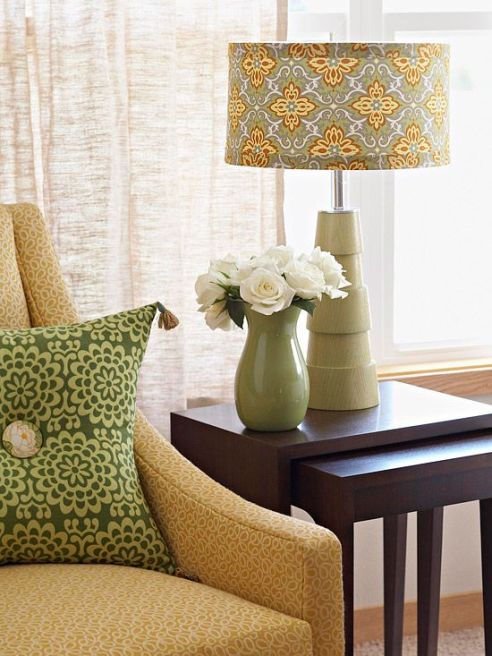 Designer Tricks OF The Trade--UpStyled Lampshade