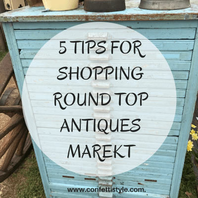 5 Tips For Shopping Round Top Antique Market {and a few gems I spotted}