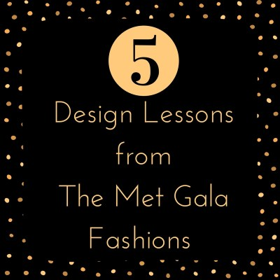 Design Lessons From The 2017 Met Gala Fashions