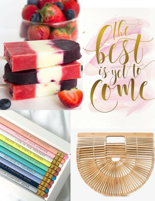 Summer Inspiration Notebook, July 2017 by ConfettiStyle