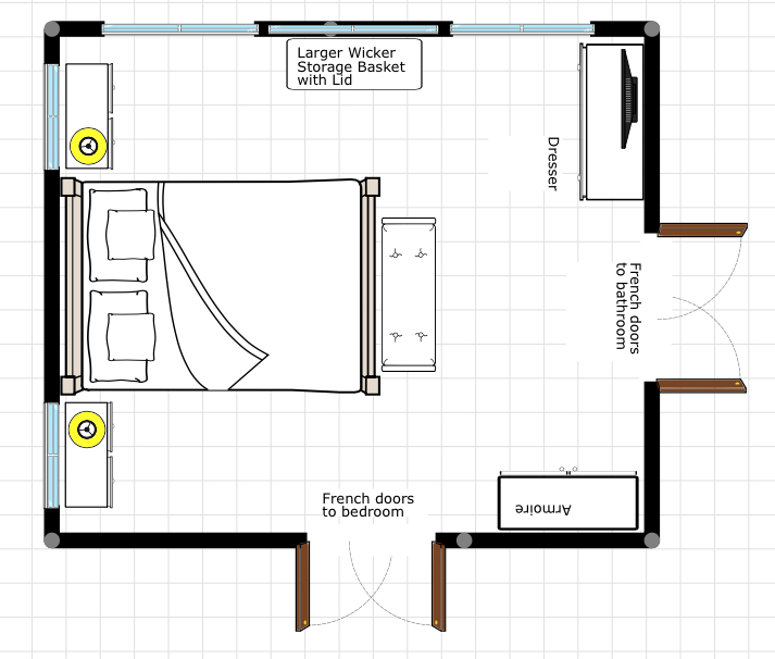 New House Diary  Master Bedroom Design Plan By ConfettiStyle