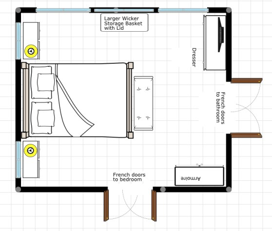 New House Diary--Master Bedroom Design Plan by ConfettiStyle