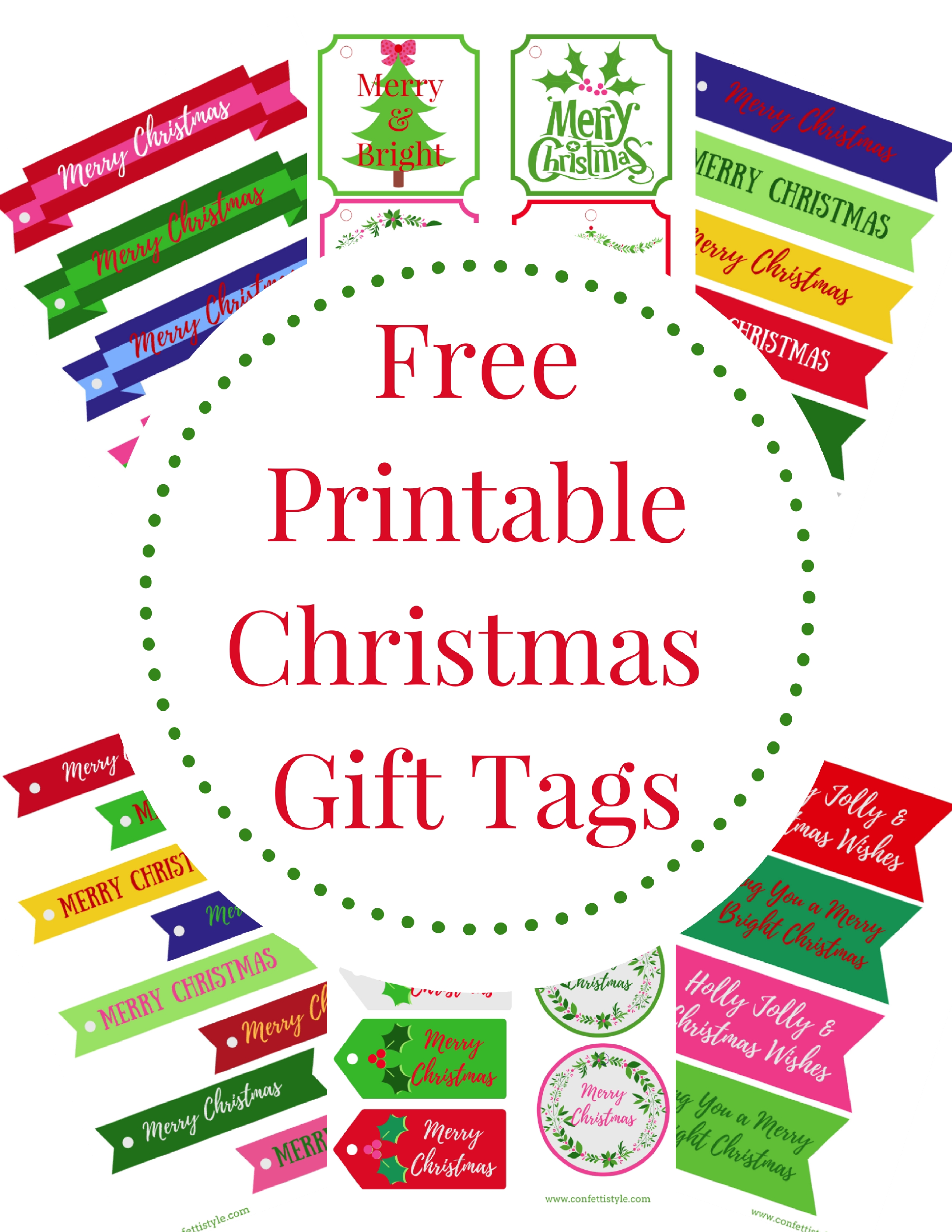 It is an image of Gorgeous Merry Christmas Tags Printable