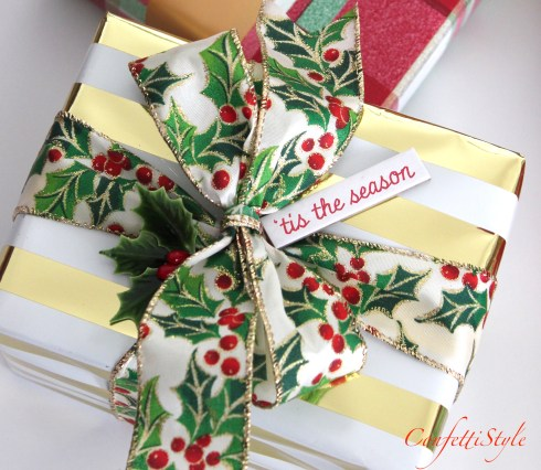 Creative Christmas Gift Wrap by ConfettiStyle