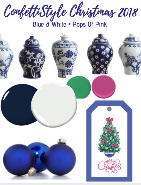 Chinoiserie Tiny Christmas Stocking Ornament