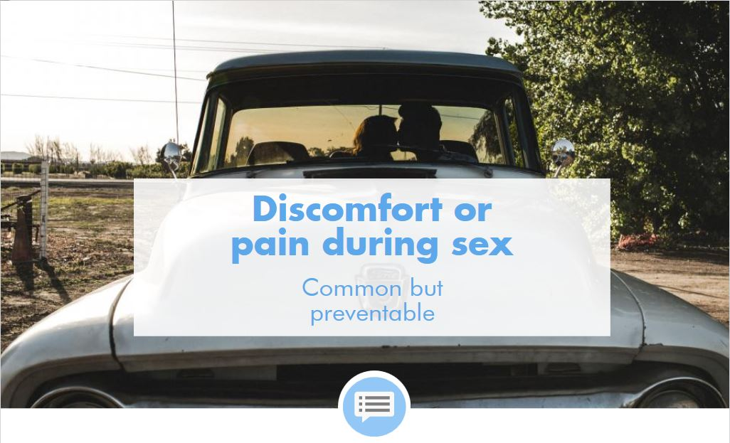 Discomfort or Pain During Sex