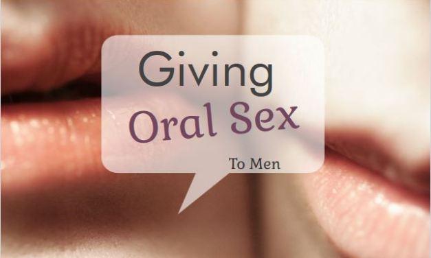 Giving Oral Sex to Men