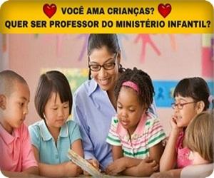 Curso Online Formação de Professores e Líderes Para o Ministério Infantil