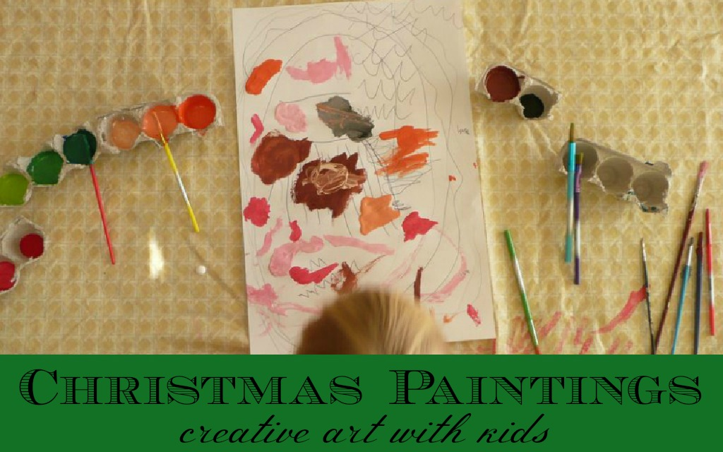 Christmas Paintings For Kids.Easy And Fun Christmas Activities Kid Christmas Paintings