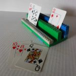 Lego card holder perfect for little hands