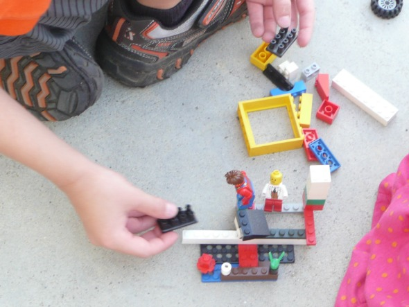 Easy Lego Party Games for Kids. 3 games easy to set up and play!