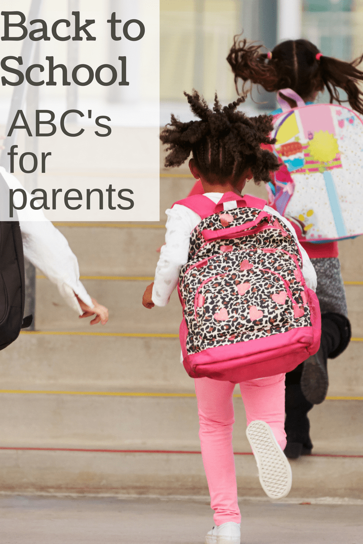 "back to school tips for parents -- ""X"" is a great idea!"