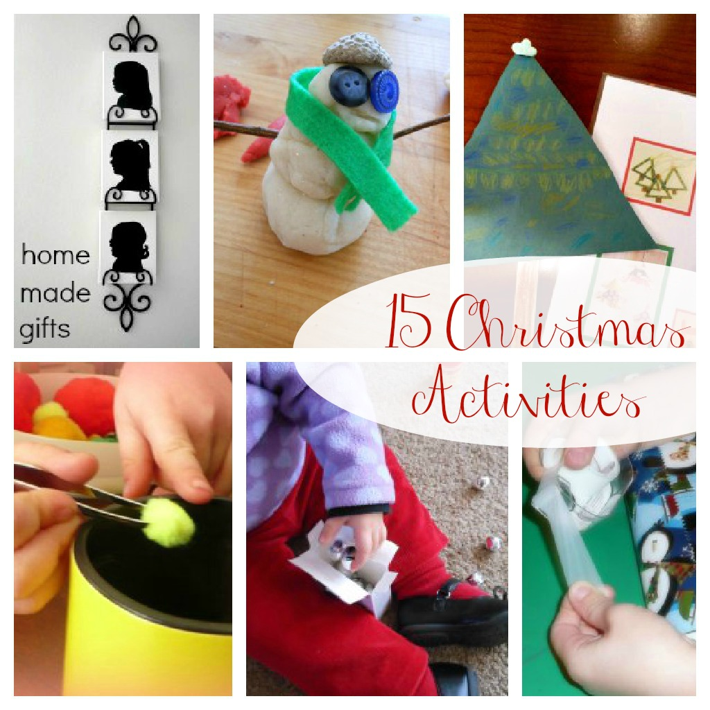 great list of Christmas Activities for kids