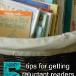 5 tips for getting reluctant readers reading