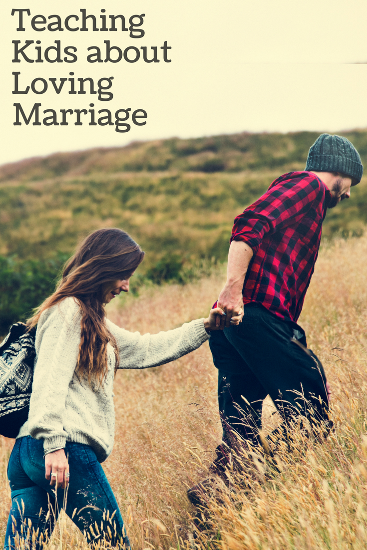 5 ways to teach kids about loving marriage