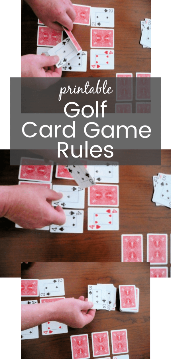 photograph relating to Printable Tenzi Cards titled Golfing Card Match Laws with Printable Self confidence Satisfies Parenting
